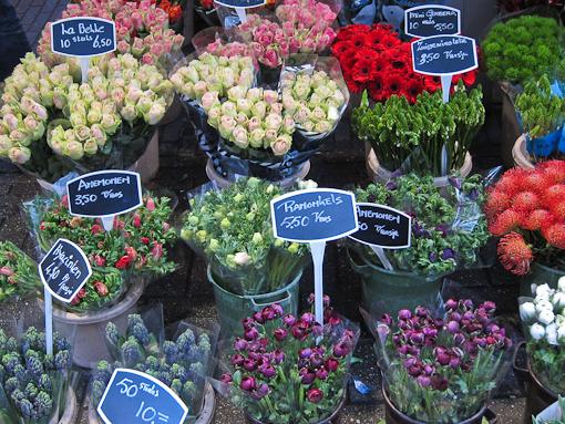 Amsterdam S Floating Flower Market Bloemenmarkt Chris