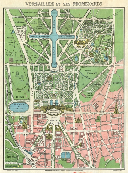 1920 Versailles map
