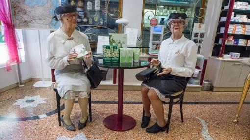 ladies in pharmacy