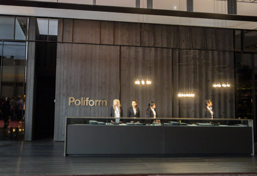 Poliform Varenna At The Salone Chris Amp Sue S Excellent